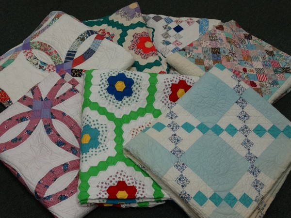 We have fabulous Antique Quilts @ Avenue Antiques