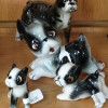 NEW ARRIVALS ~ Vintage Bull Terrier Dog Figurines~ Large Collection