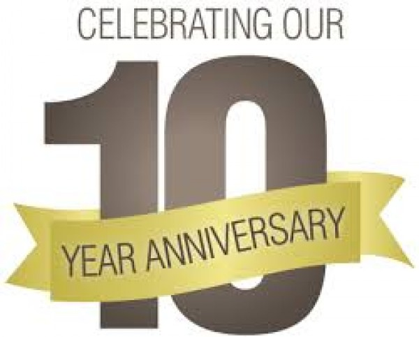 CELEBRATING OUR 10 YEAR ANNIVERSARY!